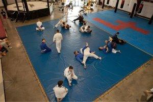 Brazilian Jiu-Jitsu class